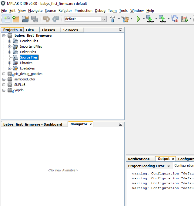 Configure a Project in MPLAB X – SWG Laboratories